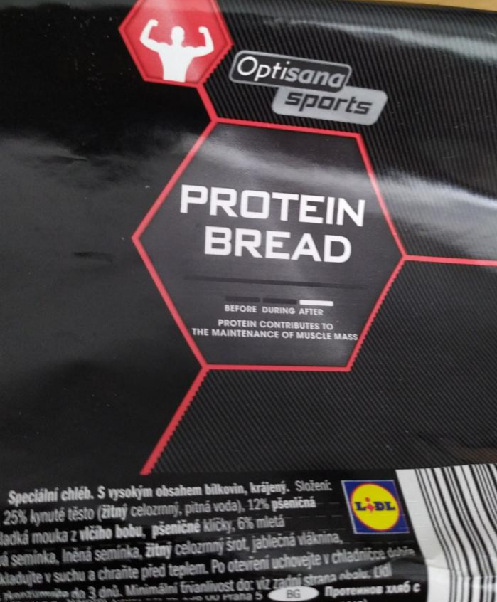 Fotografie - protein bread Optisana sports