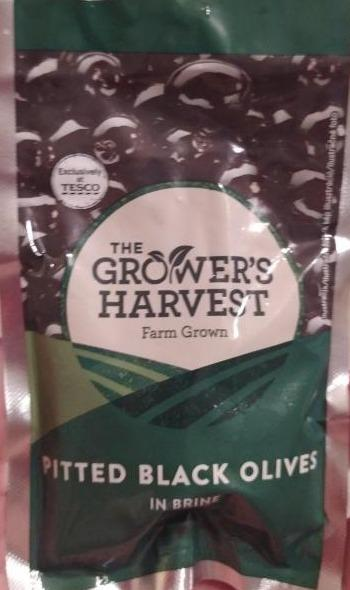 Fotografie - Pitted Black Olives in Brine The Grower's Harvest