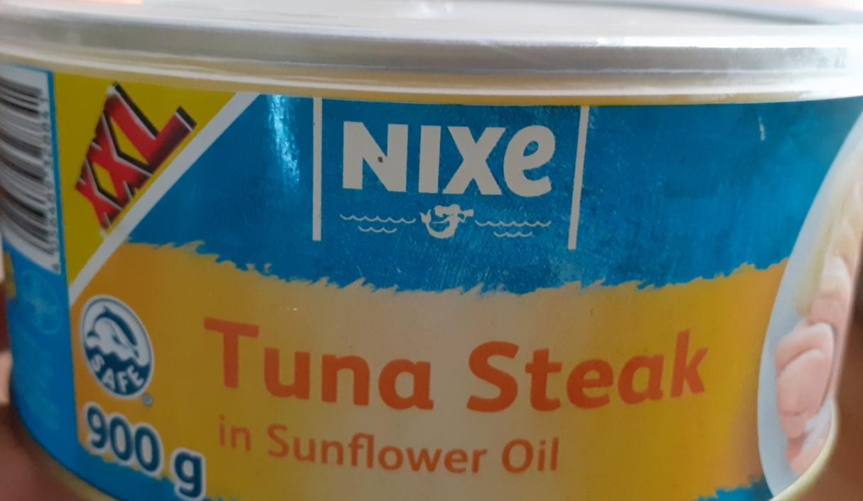 Fotografie - Tuna steak in sunflower oil XXL Nixe
