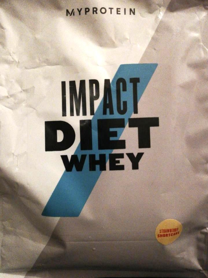 Impact diet whey strawberry shortcake flavour