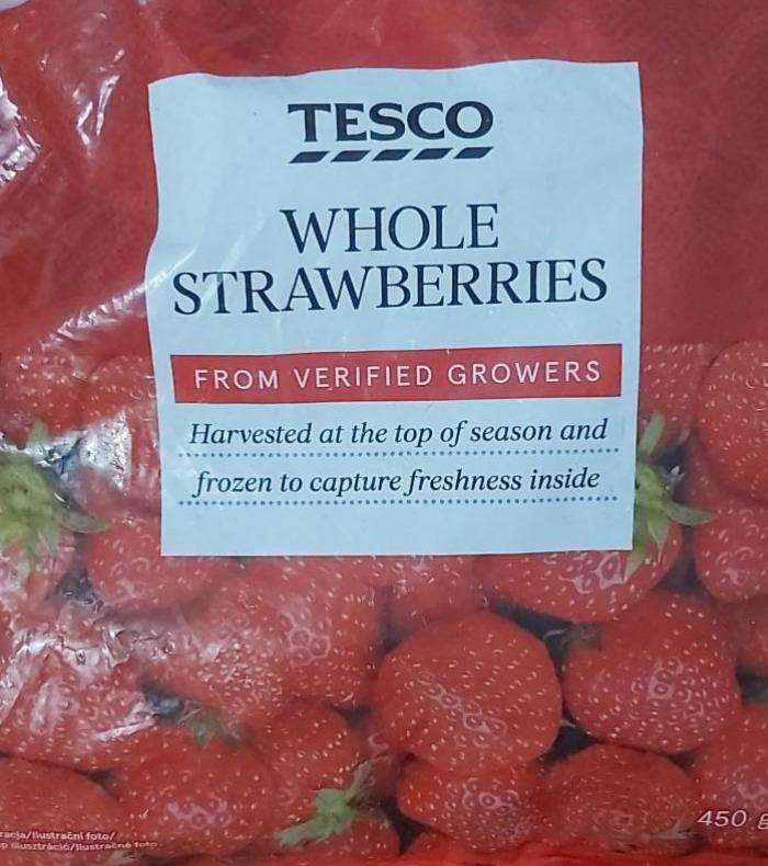 Fotografie - Whole strawberries Tesco