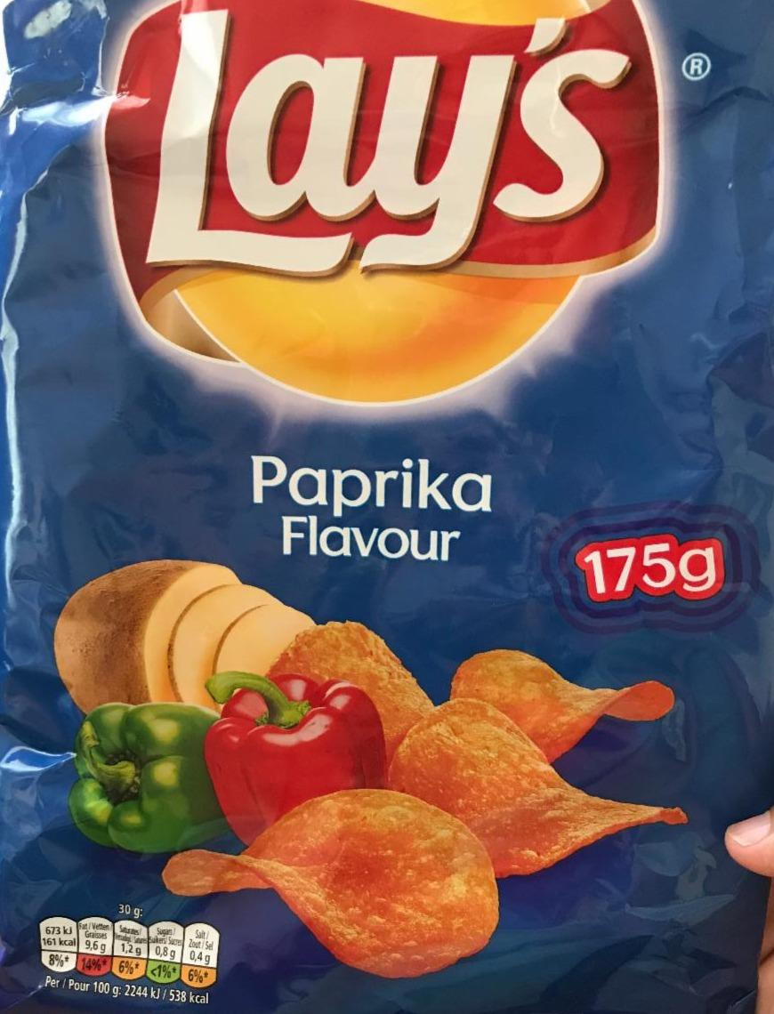 Fotografie - Chips Paprika Lay's