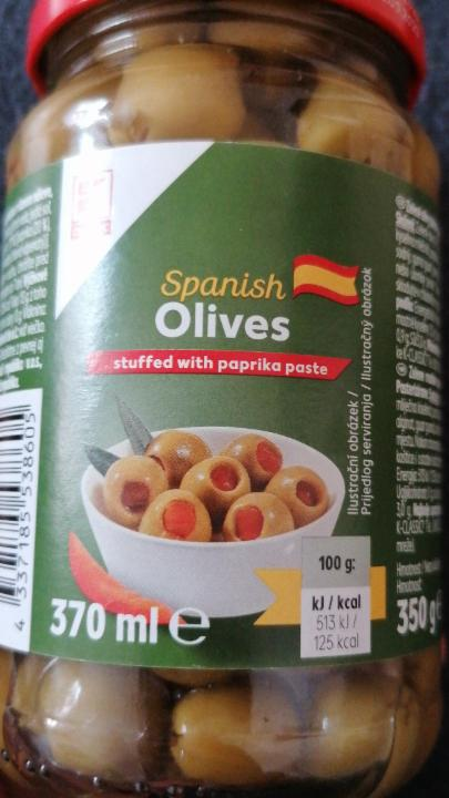 Fotografie - Spanish Olives stuffed with paprika paste K-Classic