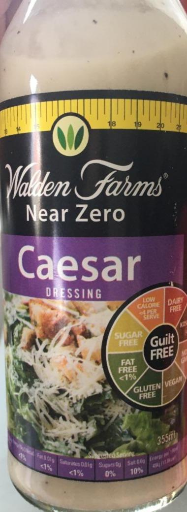 Fotografie - Caesar dressing near zero Walden Farms