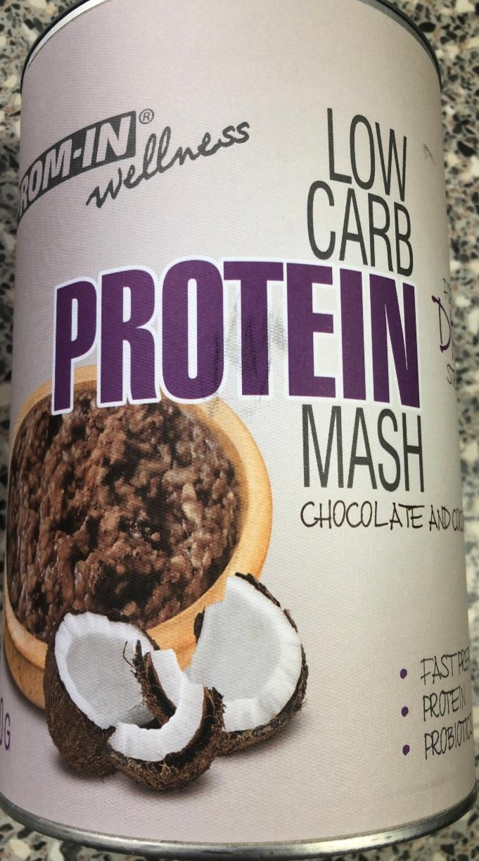 Fotografie - Low Carb Protein Mash Chocolate and Coconut Prom-in