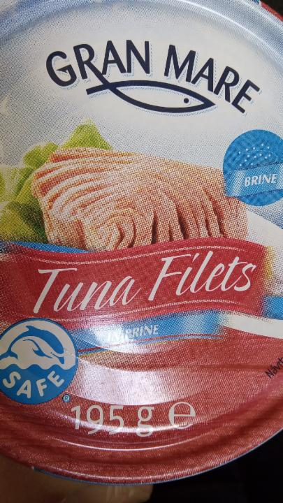 Fotografie - Tuna Filets in brine Gran Mare