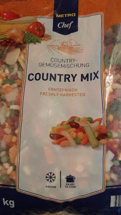 Fotografie - Country mix Metro Chef