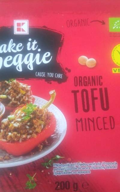Fotografie - organic tofu minced Take it veggie
