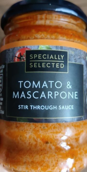 Fotografie - Tomato & mascarpone stir through sauce Specially selected