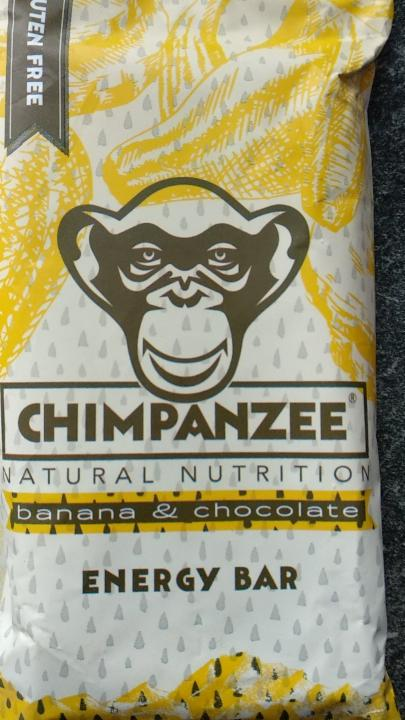 Fotografie - Energy Bar BANANA & CHOCOLATE - Chimpanzee