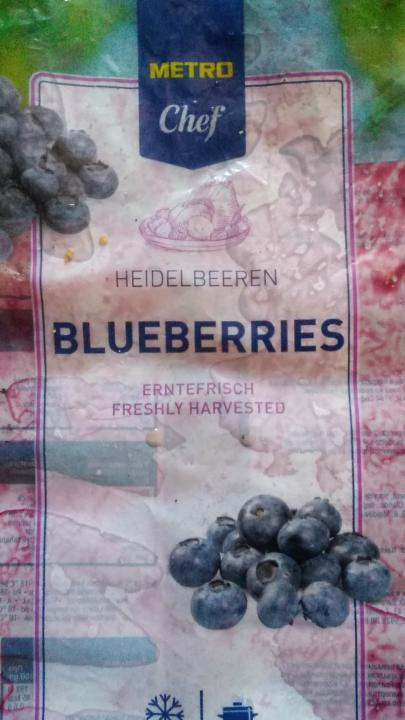 Fotografie - Blueberries Metro Chef