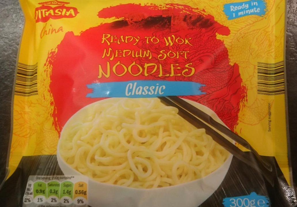 Fotografie - Ready to wok Medium Soft Noodles Classic Vitasia