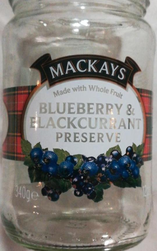 Fotografie - Blueberry & Blackcurrant preserve Mackays
