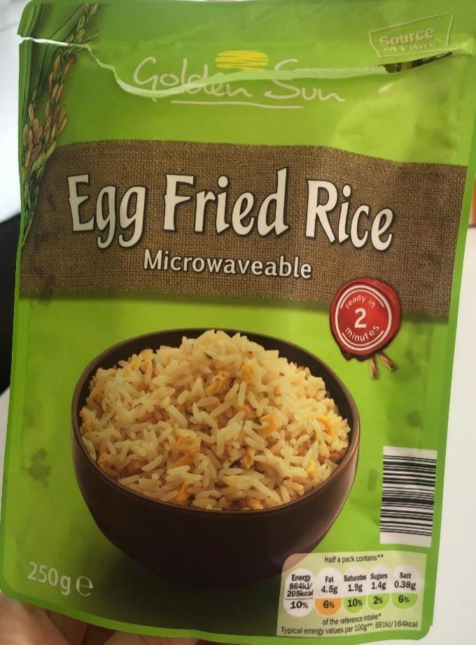 Fotografie - Egg Fried Rice Golden Sun
