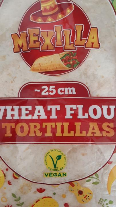 Fotografie - Wheat Flour Tortillas Mexilla