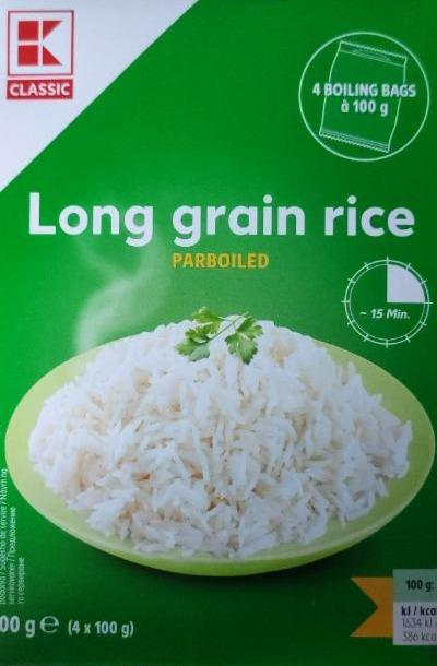 Fotografie - Long grain Rice Classic