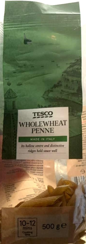 Fotografie - Wholewheat Penne Tesco