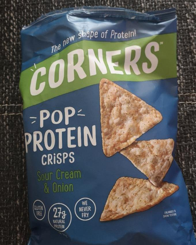 Fotografie - Pop Protein Sour Cream & Onion Corners