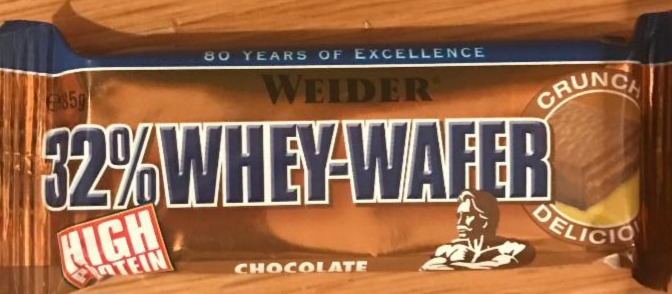 Fotografie - Whey wafer 32% chocolate