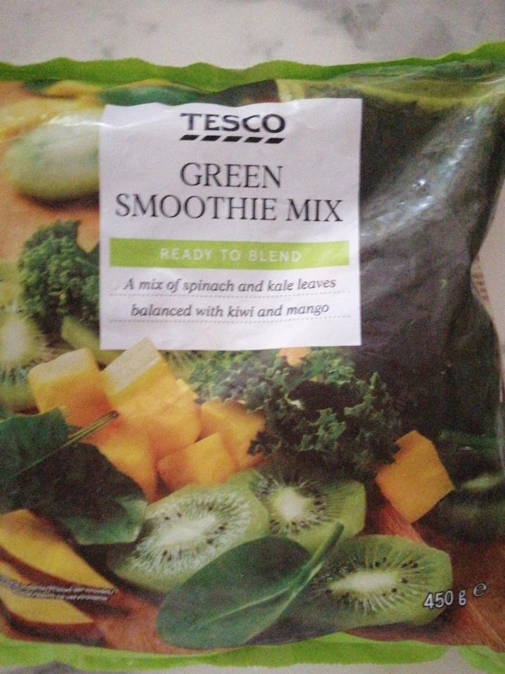 Fotografie - Green smoothie mix Tesco