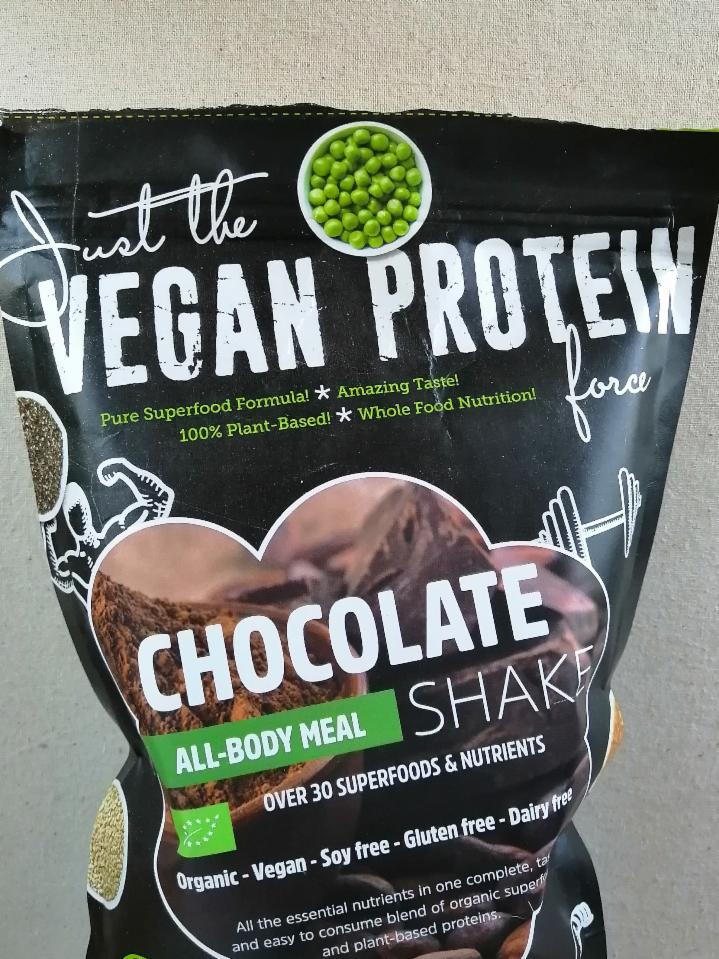 Fotografie - Vegan protein chocolate all-body meal shake