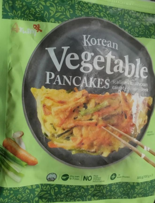Fotografie - korean vegetable pancakes