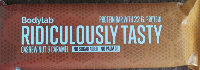Ridiculously Tasty Cashew Nut & Caramel Bodylab