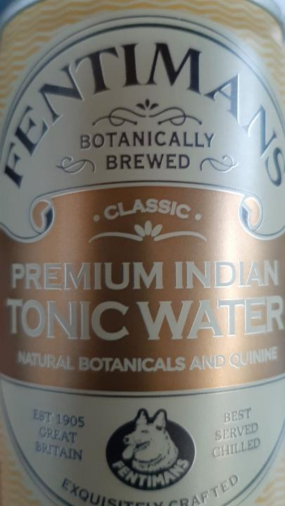 Fotografie - Fentimans premium indian tonic water