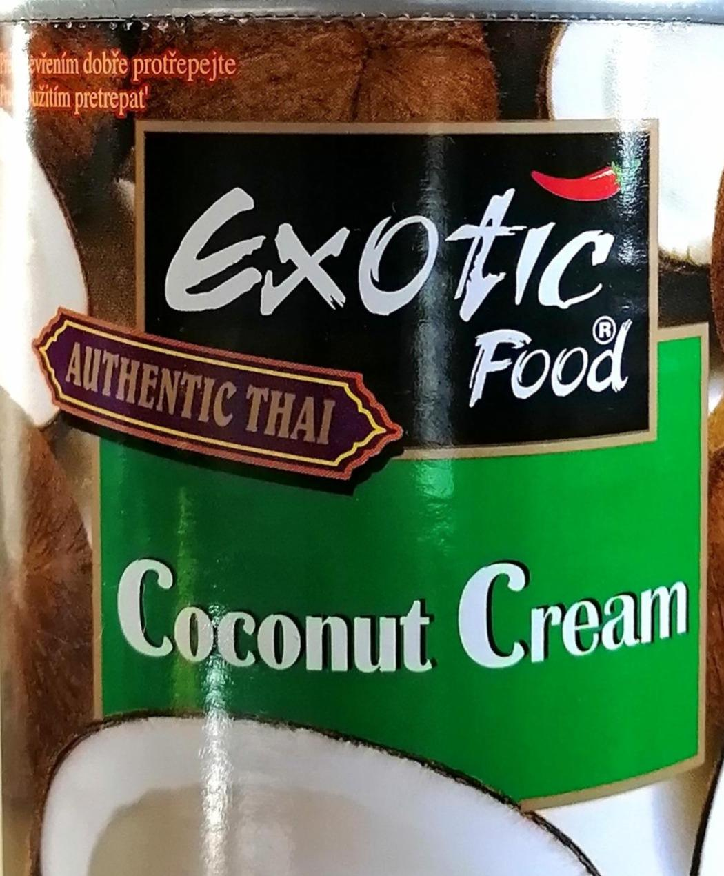 Fotografie - Coconut Cream Exotic Food