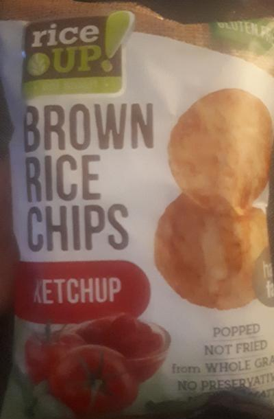 Fotografie - Brown rice chips ketchup Rice up!
