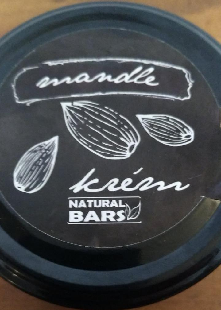 Fotografie - Mandle krém Natural Bars