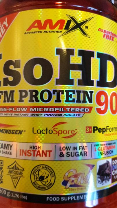 Fotografie - Iso HD-CFM protein 90 - Amix Nutrition
