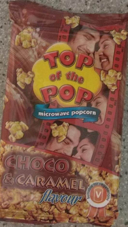 Fotografie - Microwave popcorn Choco & Caramel flavour Top of The Pop