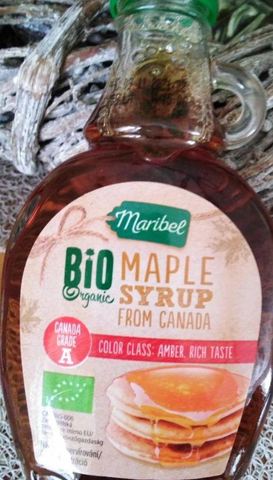 Bio maple syrup from Canada