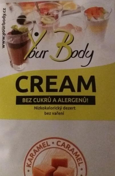 Your Body Cream karamel - nízkokalorický dezert