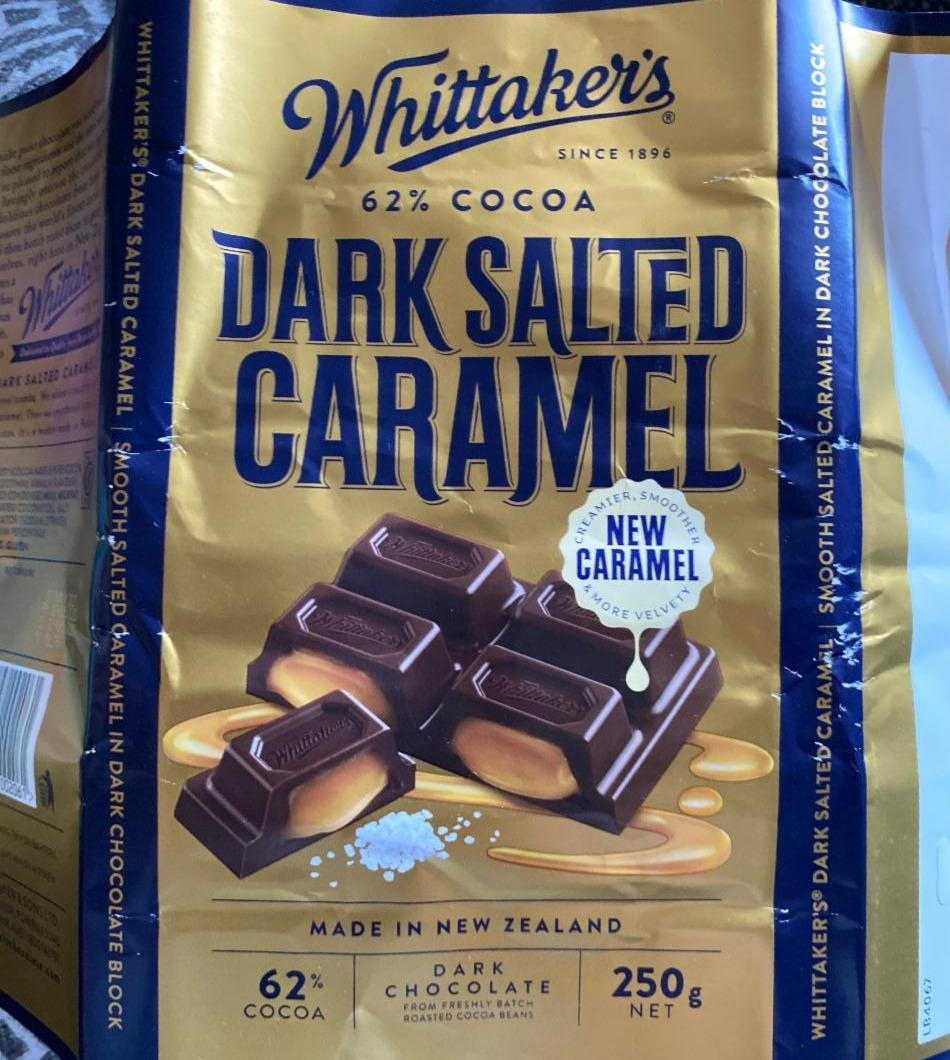 Fotografie - Dark Salted Caramel Whittakers