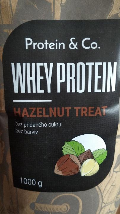 Whey Protein Hazelnut Treat Protein&Co.