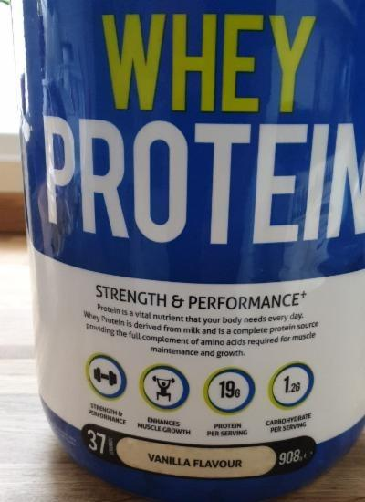Fotografie - Whey protein vanilla Precision Engineered