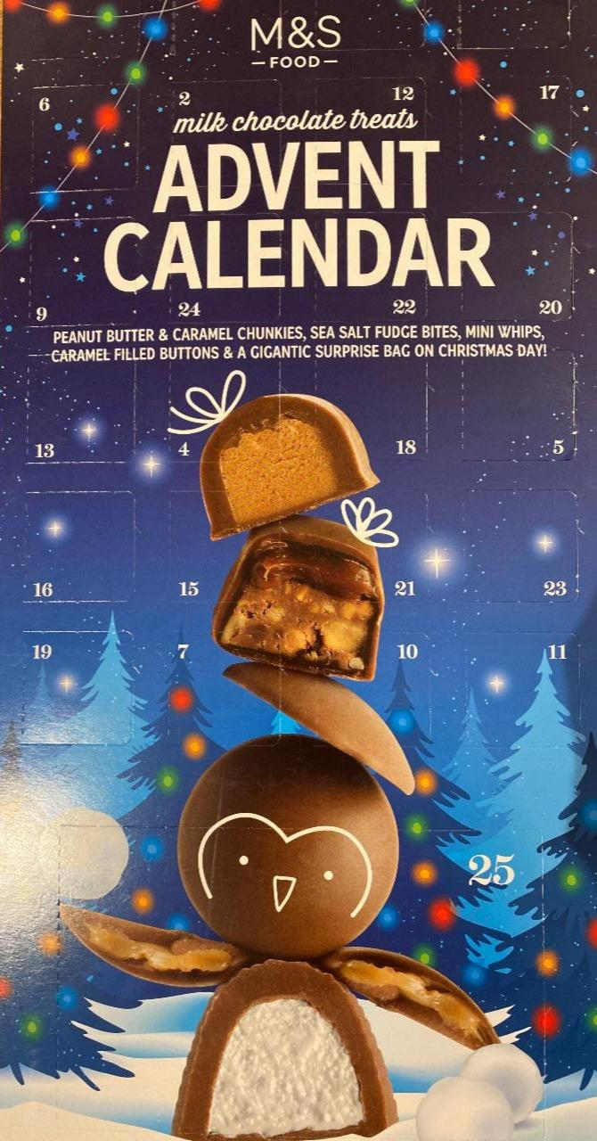 Fotografie - advent Calendar M&S