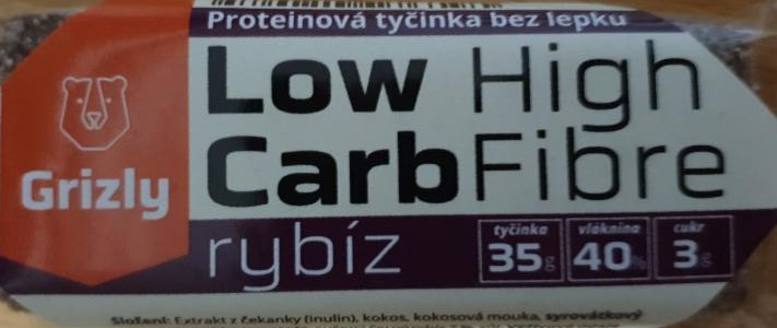 Fotografie - low carb high fibre Grizly Ribiz